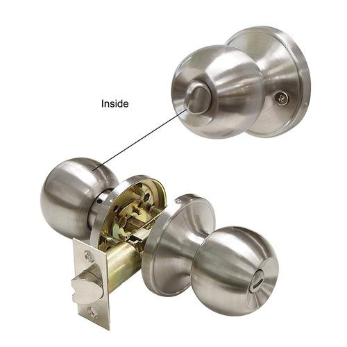 gobrico baño y cama puerta hardware intimidad metal bola pe