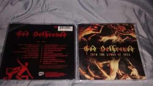 god dethroned - into the lungs of hell (2 cds) (dissection)