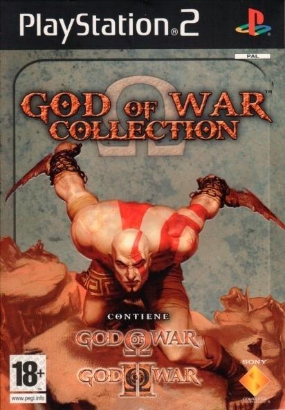 God Of War 1+2 Ps2 Coleccion (2 Discos) Playstation 2 - $ 89,00