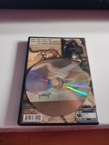 god of war 1 original para playstation 2 versión americana