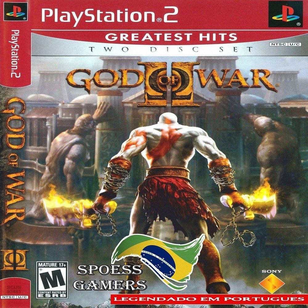 God Of War 2 Ps2 Legendado Em Português Patch Me