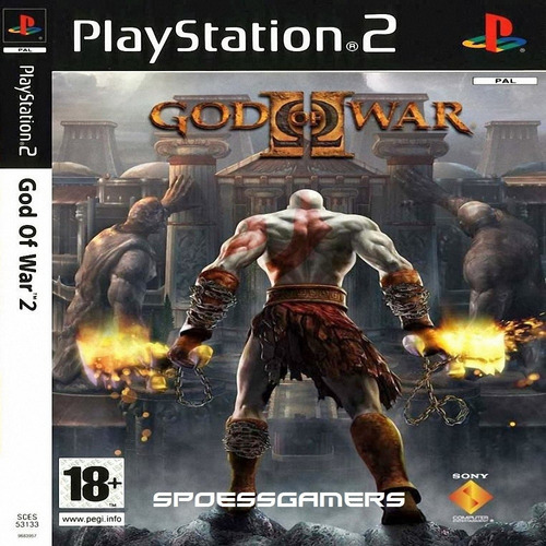 god of war 2  ps2 patch com encarte