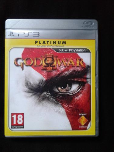 god of war 3 - full español - playstation 3 - juego fisico