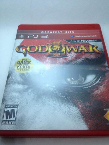 god of war 3 greatest hits ps3 midia fisica completocomplero