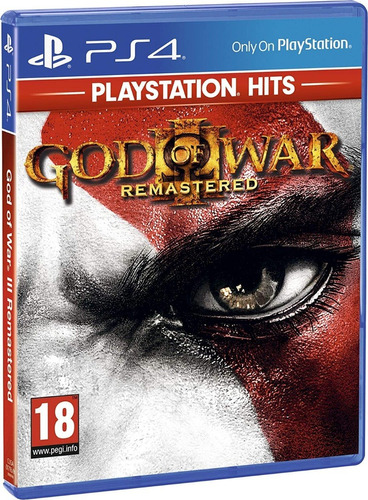 god of war 3 iii ps4 mídia física novo 100% português