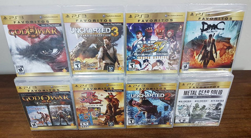 god of war 3  ps3 fisicos nuevos sellados juegos +20 títulos