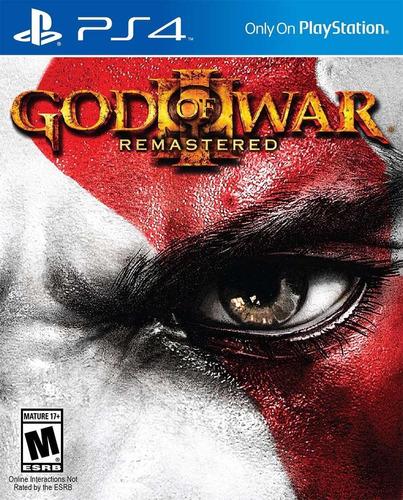 god of war 3 remastered digital ps4 en manvicio store!!!