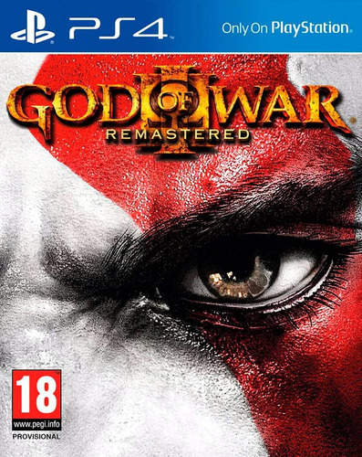god of war 3 remastered ps4 disco fisico original gow3