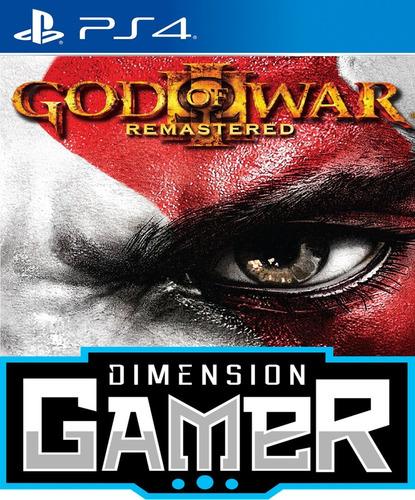 god of war 3 remastered - ps4 n0 codigo offline