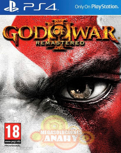 god of war 3 remastered ps4 playstation 4  disco fisico
