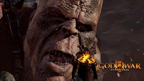 god of war 3 remastered - ps4 - sec digital español - oferta