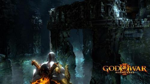 god of war 3 remasterizado - playstation 4 (físico)