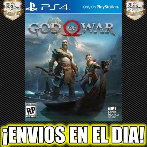 god of war 4 iv ps4 latino juego playstation 4 oferta 2°