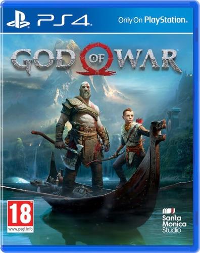 god of war 4 juego fisico sobre carton nuevo - phone store