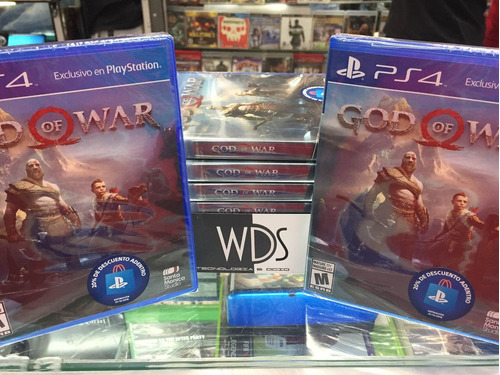 god of war 4 nuevo fisico entreno