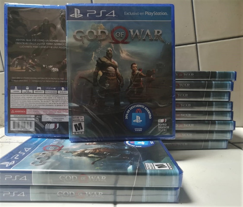 god of war 4 ps4 disponible español latino