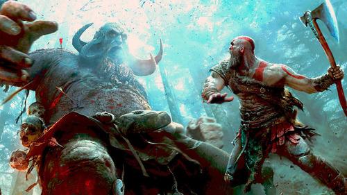 god of war 4 ps4 nuevo original fisico sellado multilenguaje