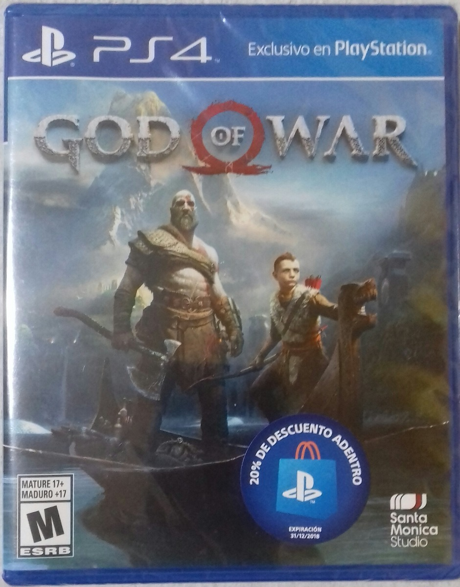 God Of War 4 Ps4 Playstation 4 Juego Fisico Envio Gratis 2 299