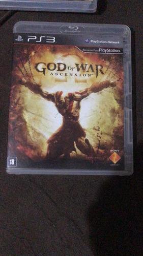 god of war ascencion dublado ps3 mídia física