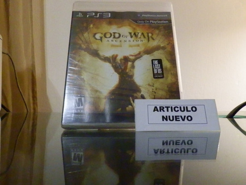 god of war: ascension - fisico - playstation 3