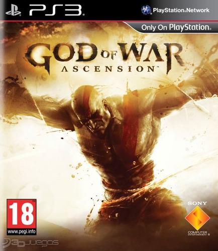 god of war ascension juego ps3 playstation 3