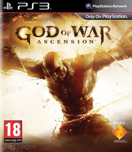 god of war ascension ps3 digital entrega inmediata
