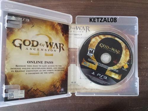 god of war ascension ps3 (dios de la guerra)