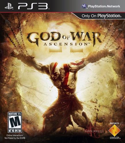 god of war ascension ps3 dios de la guerra disponible hoy