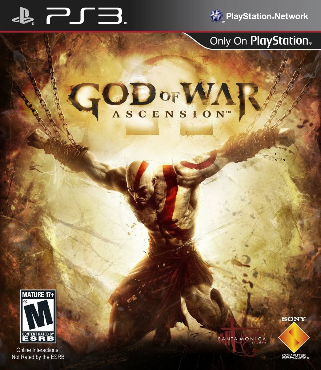GOD OF WAR ASCENSION SEMINUEVO