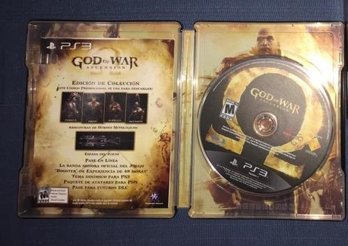 god of war assencion ps3,original