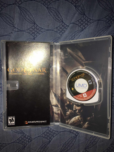 god of war: chains of olympus psp (greatest hits)