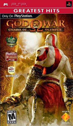 god of war chains of olympus psp nuevo y sellado