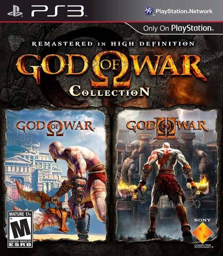 god of war collection: gow 1 + gow 2 - español/ ps3 digital
