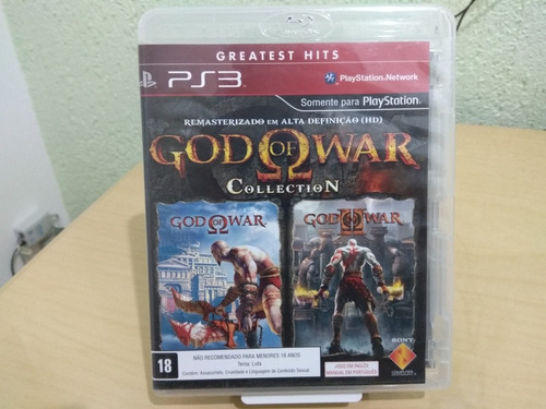 god of war collection ps3 usado