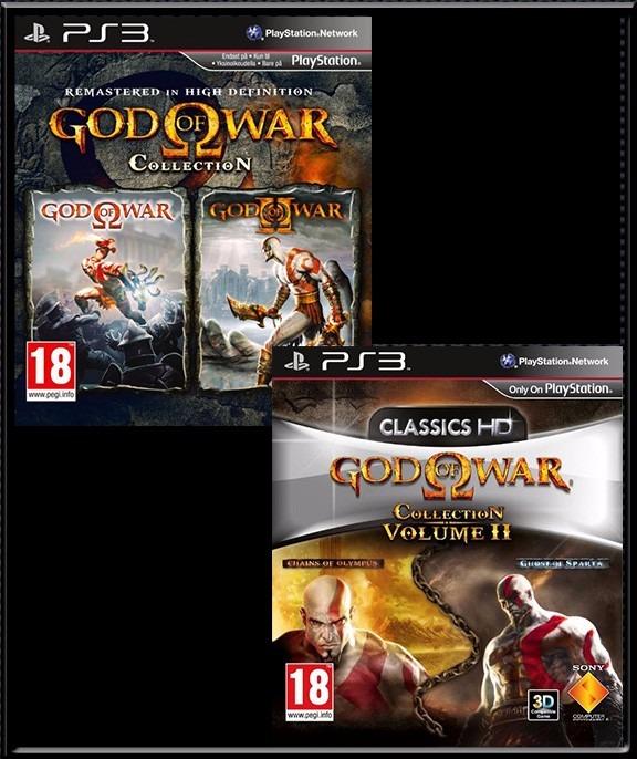god of war collection volumen 1 y 2 ps3 digital