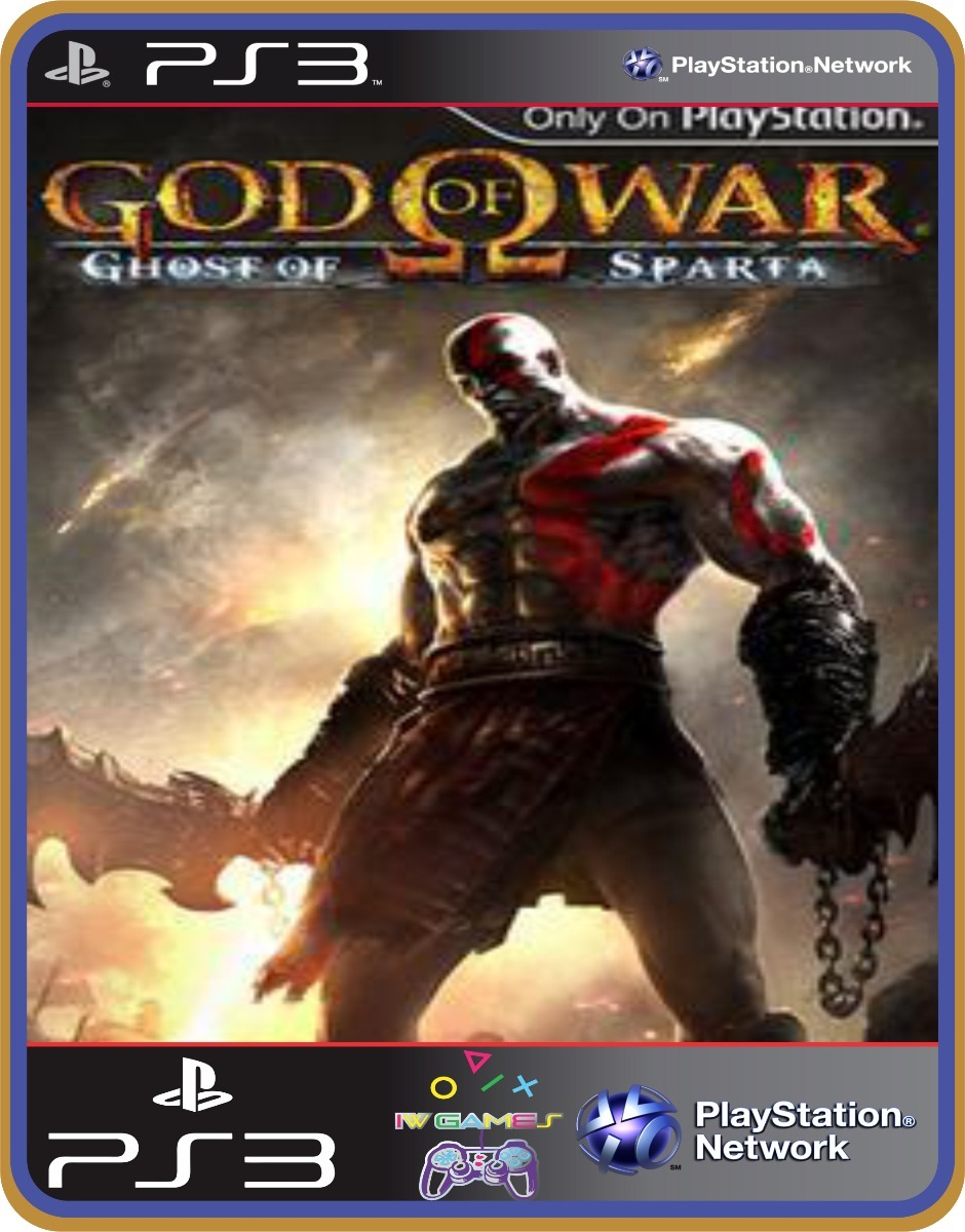 God Of War Ghost Of Sparta Ps3 Midia Digital Envio Imediato