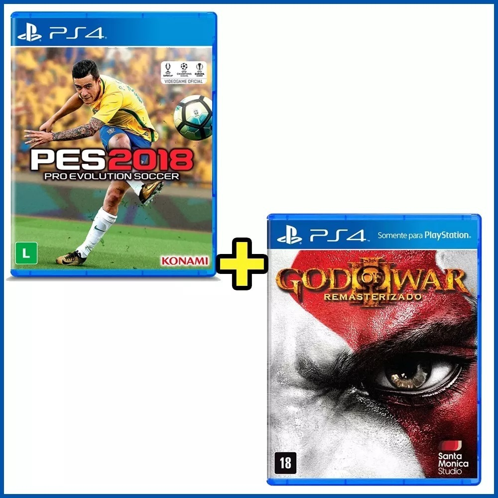 God Of War Iii Ps4 Pro Evolution Soccer 2018 Pes R 129 Sony Premium Edition Carregando Zoom