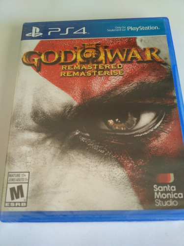 god of war iii remastered ps4 nuevo fisico sellado