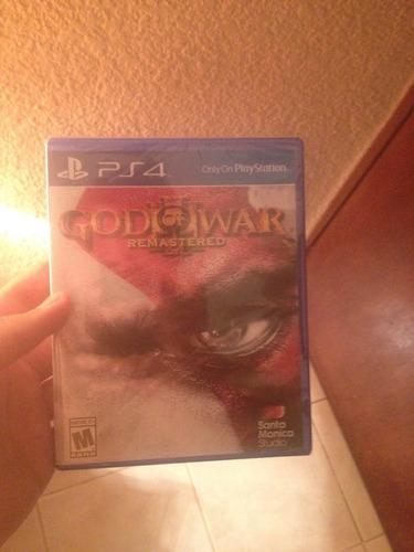 god of war iii remastered ps4 nuevo y selladodellado