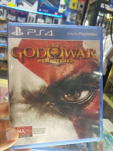 god of war iii remasterizado para ps4