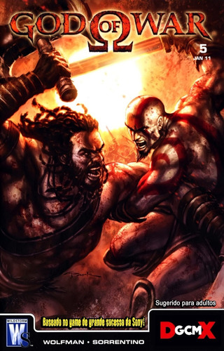 god of war - minissérie completa (hq digital)
