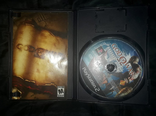 god of war original para ps2 play station 2