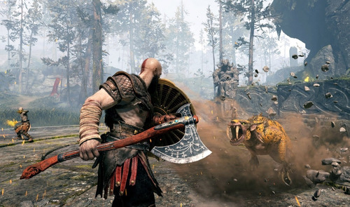 god of war ps4 português midia física novo lacrado com nf