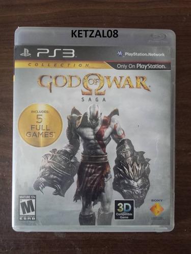 god of war saga ps3 (dios de la guerra)