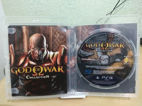 god war collection ps3
