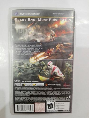 god war: ghost sparta psp