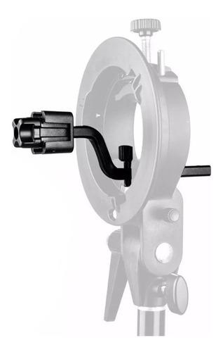 godox adaptador 4 flashes speedlite p/usar con rotula stype