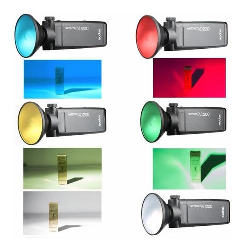 godox mini reflector/cacerola ad200 ad180 ad360 ad360ii
