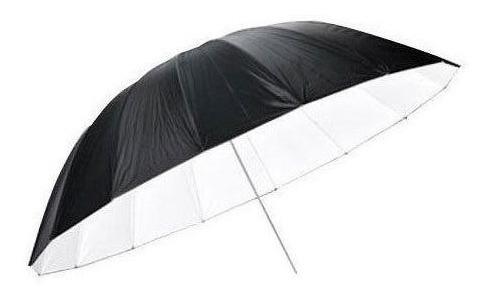 godox paraguas sombrilla negro/plateado 150 cm ideal flash de estudio