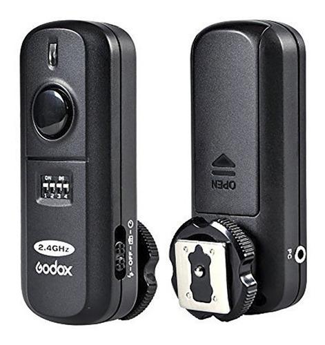 godox radio disparador universal manual no ttl para flashes de zapata o de estudio con cable plug-in incluído
